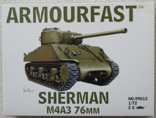 Armourfast 20mm 99012 M4A3 76mm Sherman